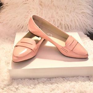 Kelsi Dagger Blush Pink Flat Loafers Sz 8